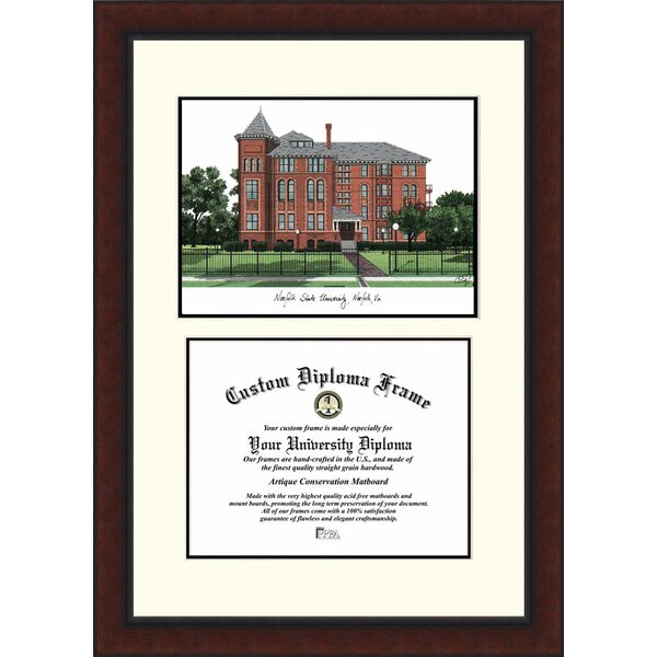 NCAA Norfolk State Legacy Scholar Diploma Picture Frame by Campus Images