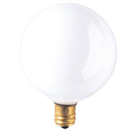 Candelabra 15W Frosted 130-Volt (2300K) Incandescent Light Bulb (Set of 43) by Bulbrite Industries