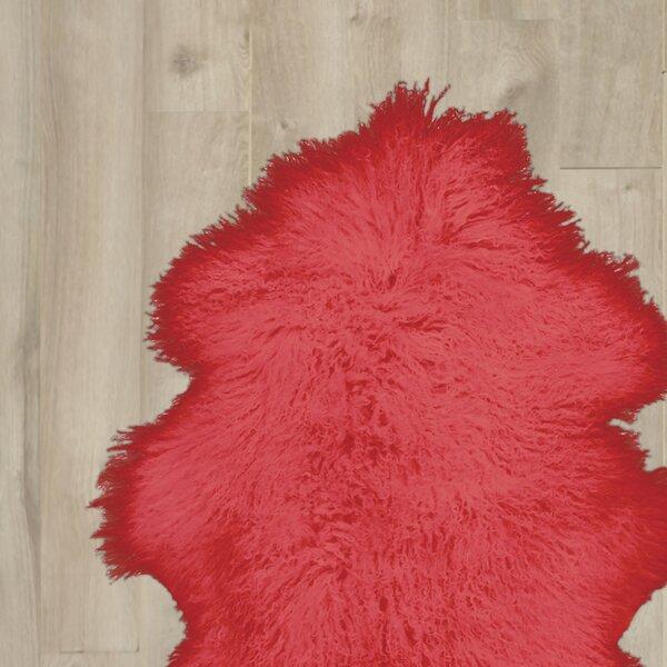 Chevalier Handmade Red Area Rug by Orren Ellis