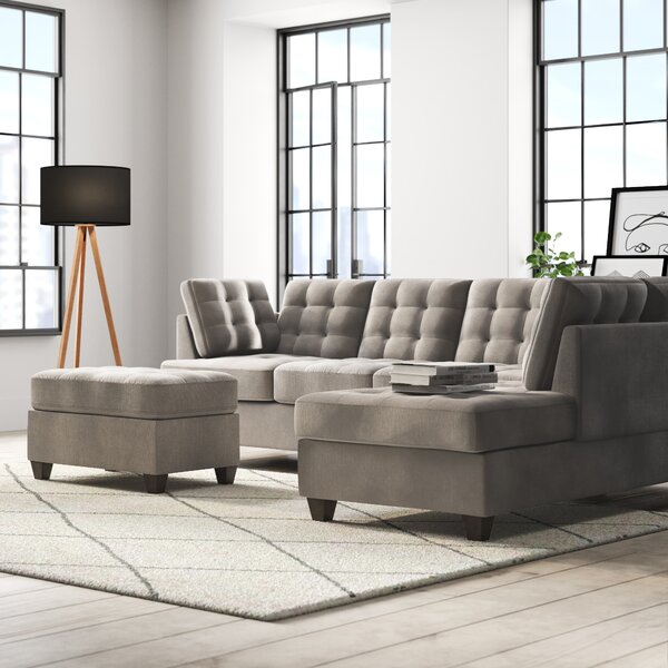 Westerham Reversible Sectional by Ebern Designs
