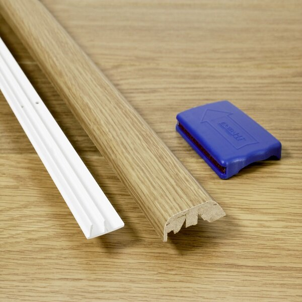 0.69 x 2 x 84 Multifunctional Molding in Mocha Oak by Quick-Step