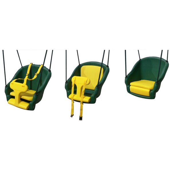 2-in-1 Convertible Safe T-Swing by Backyard Discovery
