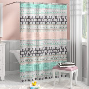 Affordable Uriel Shower Curtain ByViv + Rae