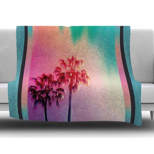 La Rainbow by Nina May Fleece Blanket by East Urban Home