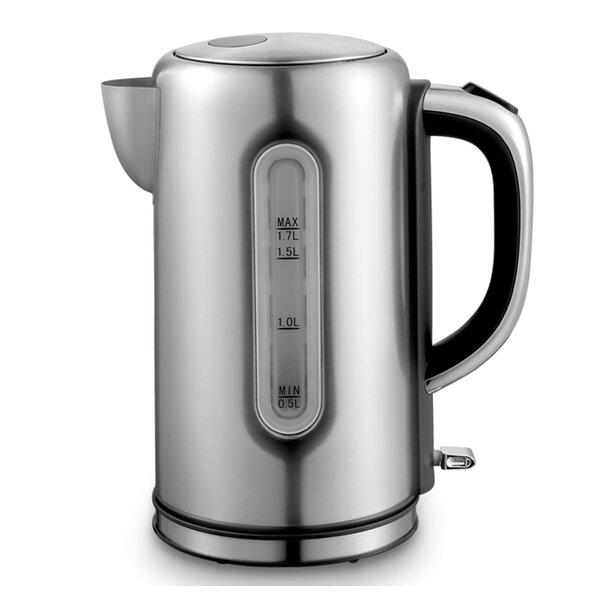 Kung Fu Master 1.7L Stainless Steel with Boil and Dry Protection Kettle by Cookinex