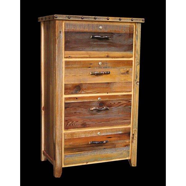 Jorgensen 4 Drawer Dresser by Loon Peak