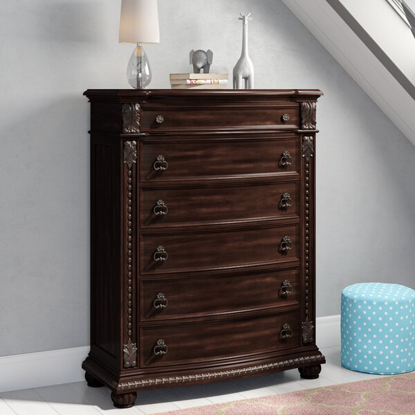 Evangeline 6 Drawer Chest by Astoria Grand