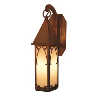 Buying Saint George 1-Light Outdoor Wall Lantern By Arroyo Craftsman