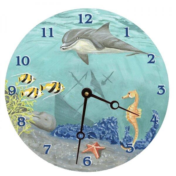 18 Under the Sea Wall Clock by Lexington Studios