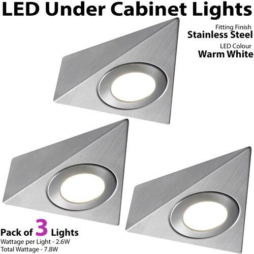 Taos LED Under Cabinet Puck Light Symple Stuff
