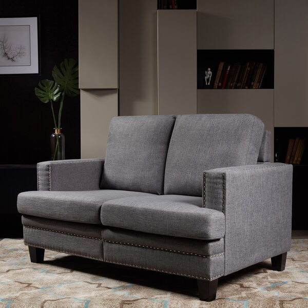 Best #1 Bordelon Loveseat By House Of Hampton Great price