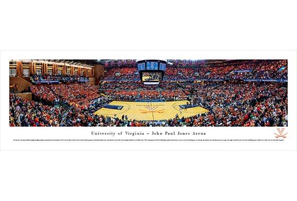 NCAA Virginia, University of - Basketball by James Blakeway Photographic Print by Blakeway Worldwide Panoramas, Inc