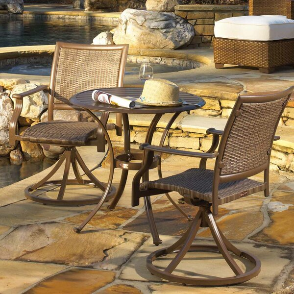 Island Cove 3 Piece Dining Set by Panama Jack Outdoor