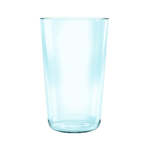 Gaige Simple Clear Jumbo 21.4 oz. Plastic Every Day Glass (Set of 6) by Wrought Studio