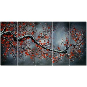 Painting on Wrapped Canvas by Design Art