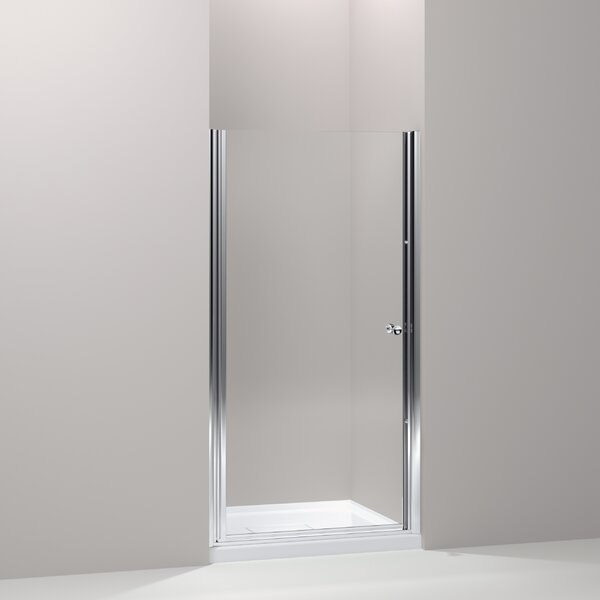 Fluence 28.75 x 65.5 Pivot Shower Door with CleanCoat® Technology by Kohler