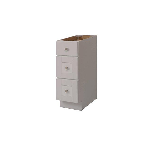 Grayson 12'' W x 34.5'' H x 21'' D Free-Standing Bathroom Cabinet