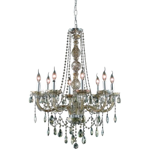 Mullinix 8 - Light Candle Style Classic / Traditional Chandelier by Astoria Grand Astoria Grand
