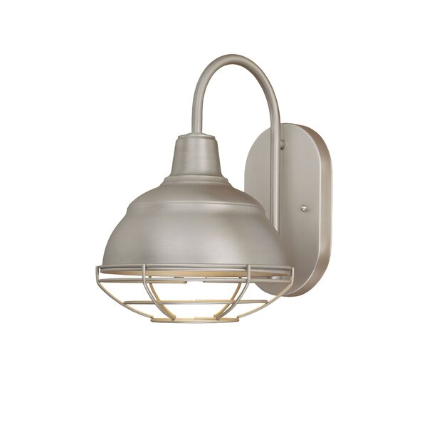 Bruges 1-Light Outdoor Barn Light by Trent Austin Design