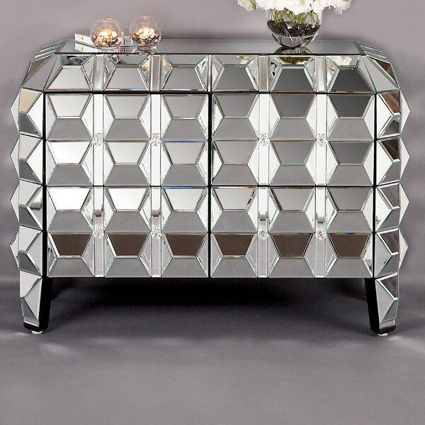 Legault Mirrored Accent Cabinet