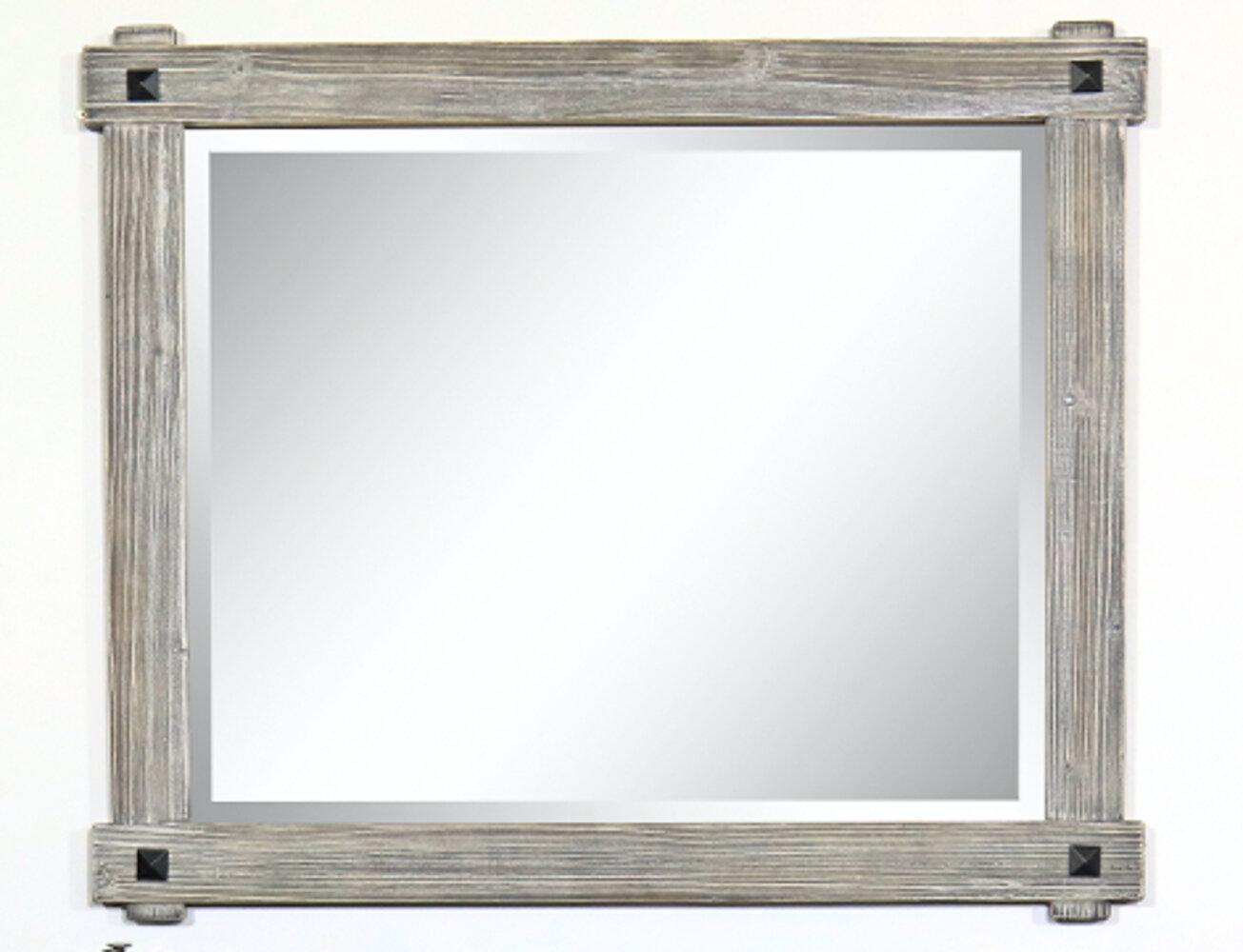 Millwood Pines Longmeadow Rustic Wood Framed Bathroom