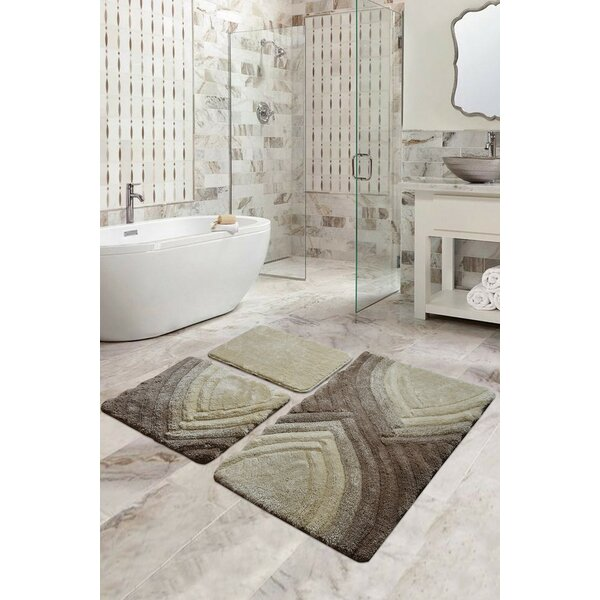 Volo Antibacterial 3 Piece Bath Rug Set