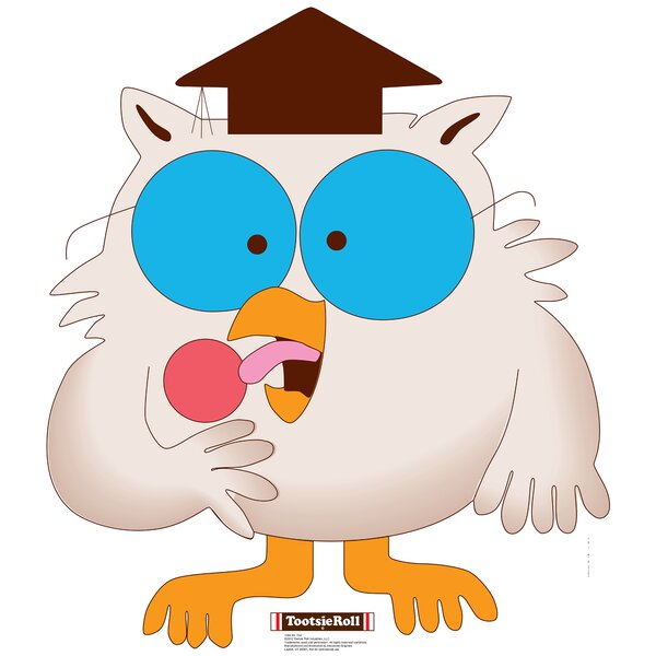 Mr. Owl - Tootsie Roll Cardboard Standup by Advanced Graphics