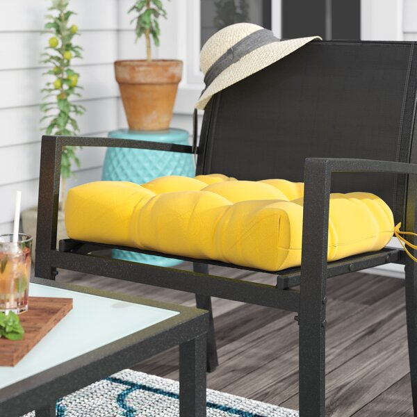 Sarver Indoor/Outdoor Dining Chair Cushion by Andover Mills