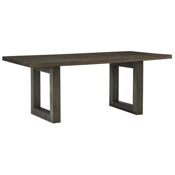 Wilshire Dining Table by Gracie Oaks