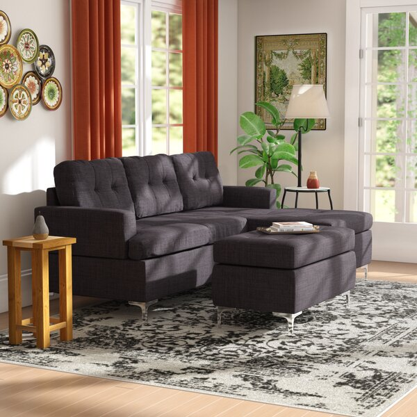 Looking for Utley Sectional By Orren Ellis No Copoun