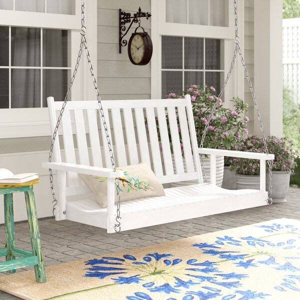 Swanley Porch Swing with Chain by Highland Dunes