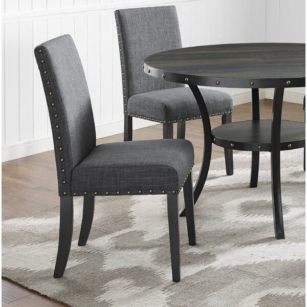 Aadvik Cotton Upholstered Dining Chair (Set Of 2) By Andover Mills™