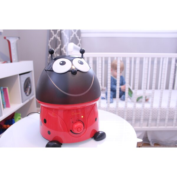 Lily Lady Bug 1 Gal. Cool Mist Ultrasonic Tabletop Humidifier by Crane USA