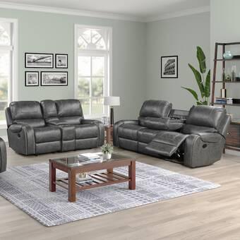 Red Barrel Studio Digiovanni 3 Piece Reclining Living Room Set Wayfair