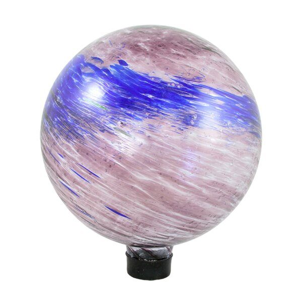 Swirled Glass Outdoor Patio Garden Gazing Ball by Northlight Seasonal