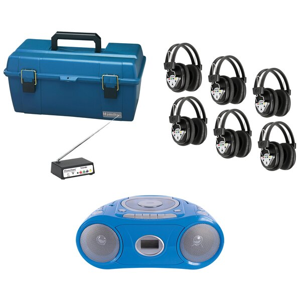 6 Person Wireless Val-U-Pack CD Listening Center by Hamilton Buhl