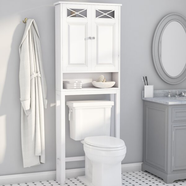 Coddington 25 W x 68 H Over The Toilet Storage by Darby Home Co