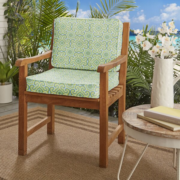 Deep Seating Indoor/Outdoor Dining Chair Cushion