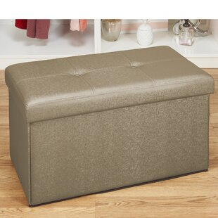 Hobert Double Tufted Storage Ottoman