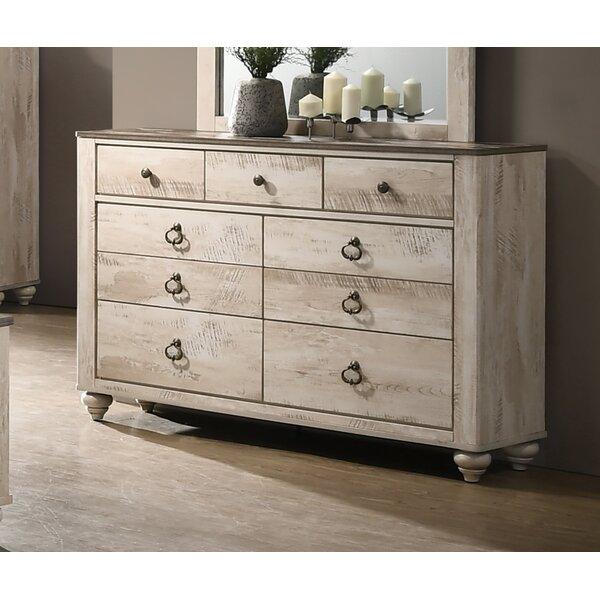 Pliner 7 Drawer Double dresser by Greyleigh