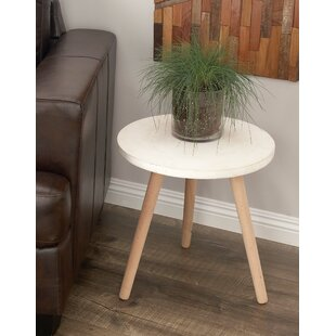 Look for Shafter Fiberclay End Table By Bungalow Rose