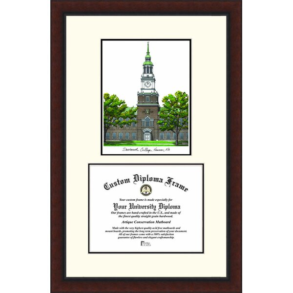 NCAA Dartmouth College Legacy Scholar Diploma Picture Frame by Campus Images