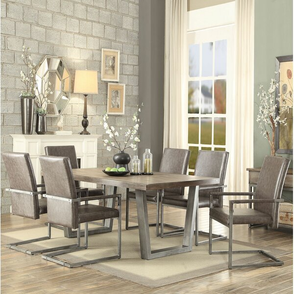 Bricelyn 7 Pieces Dining Set by Brayden Studio