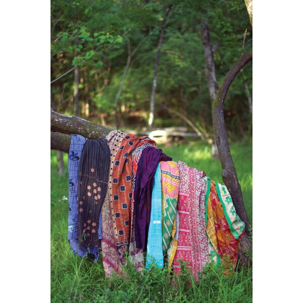 Astra Kantha Throw By Bungalow Rose.