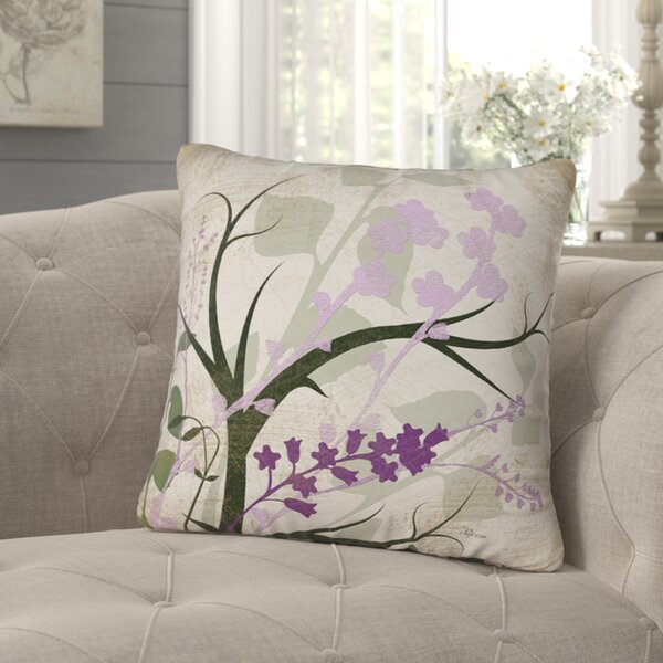 Lois Printed Throw Pillow by August Grove