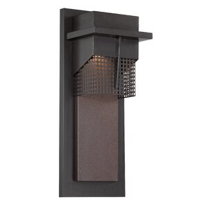 Beacon 1-Light Outdoor Flush Mount