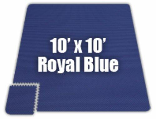Premium SoftFloors Set in Royal Blue by Alessco Inc.