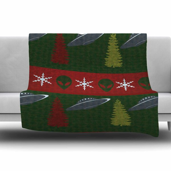 Xmas Files by Alias Fleece Blanket by East Urban Home