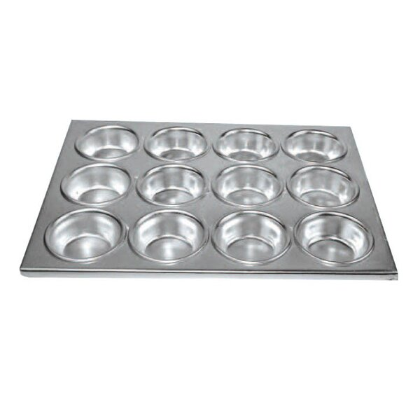 12 Cup Muffin Pan by Winco