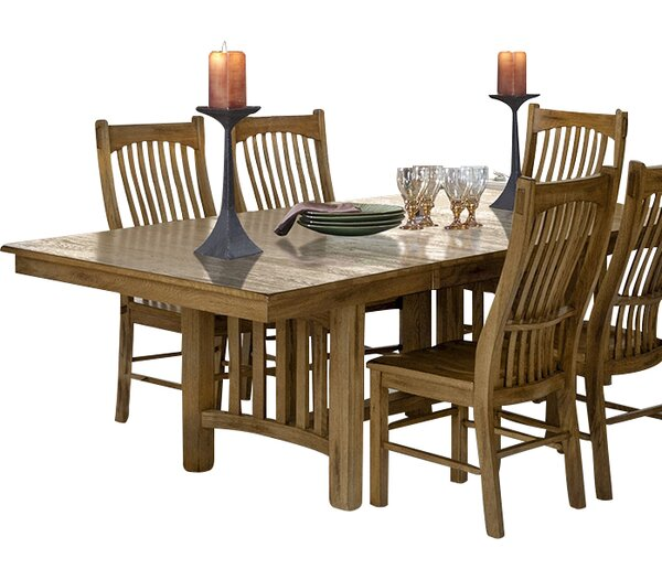 Linda Extendable Dining Table by Millwood Pines Millwood Pines